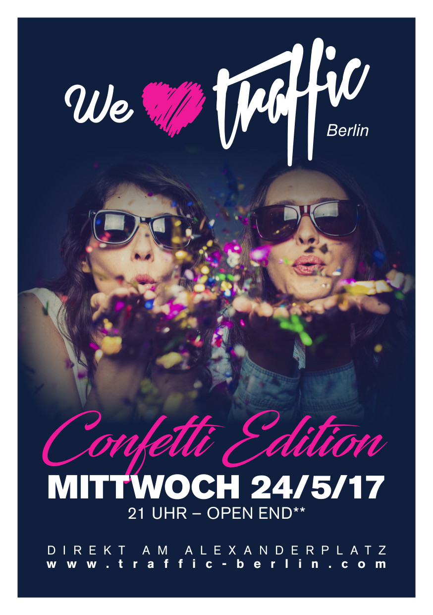 Traffic Club Berlin / Mittwoch, 24. Mai 2017