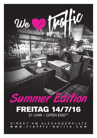 Traffic Club Berlin / Freitag, 14. Juli 2017