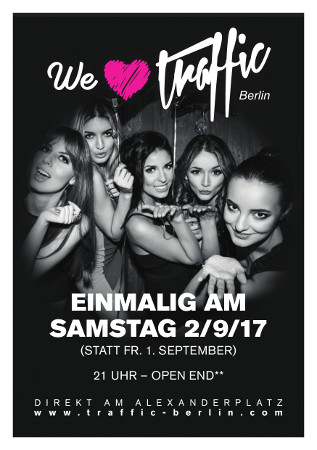 Traffic Club Berlin / Samstag, 2. September 2017
