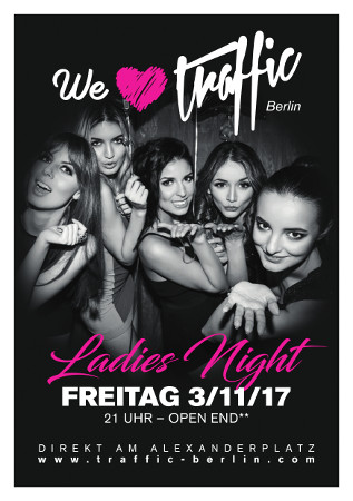 Traffic Club Berlin / Freitag, 3. November 2017 / 21:00 Uhr