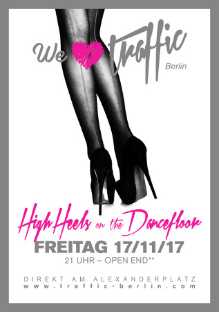 Traffic Club Berlin / Freitag, 17. November 2017 / 21:00 Uhr