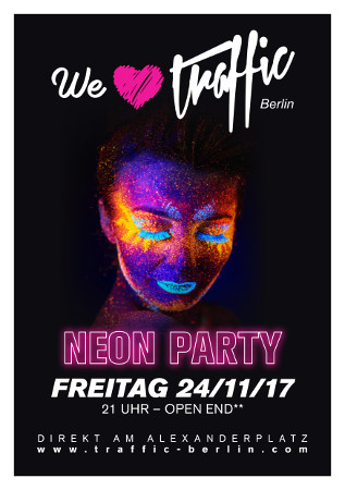 Traffic Club Berlin / Freitag, 24. November 2017 / 21:00 Uhr