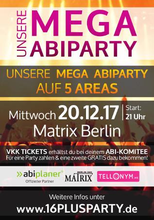 Matrix Club Berlin / Mittwoch, 20. Dezember 2017 / 21:00 Uhr