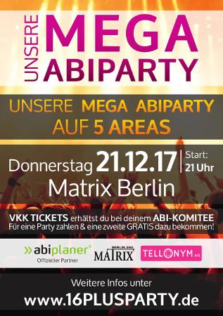Matrix Club Berlin / Donnerstag, 21. Dezember 2017 / 21:00 Uhr