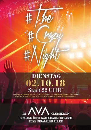 Ava Club Berlin / Dienstag, 2. Oktober 2018