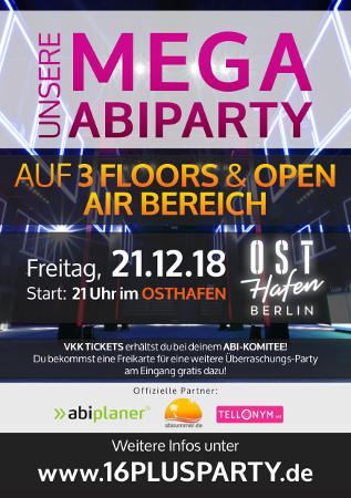 Osthafen / Freitag, 21. Dezember 2018 / 21:00 Uhr