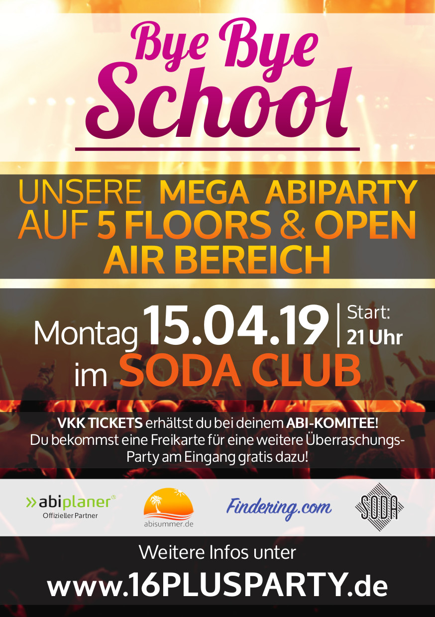 Soda Club / Montag, 15. April 2019 / 21:00 Uhr