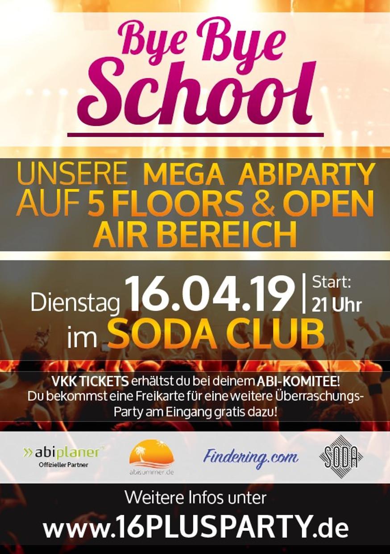 Soda Club / Dienstag, 16. April 2019 / 21:00 Uhr