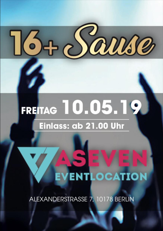 ASEVEN CLUB / Freitag, 10. Mai 2019 / 21:00 Uhr