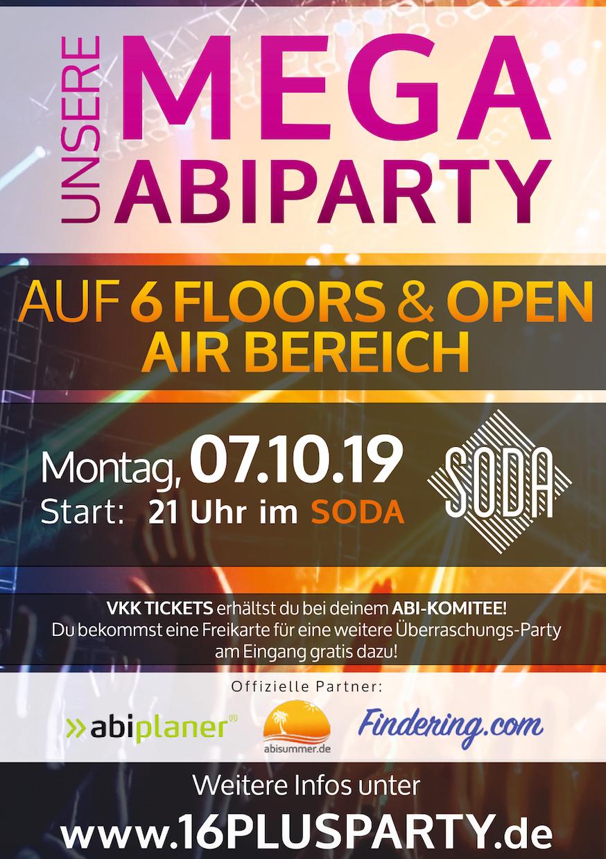 Soda Club  / Montag, 7. Oktober 2019 / 21:00 Uhr