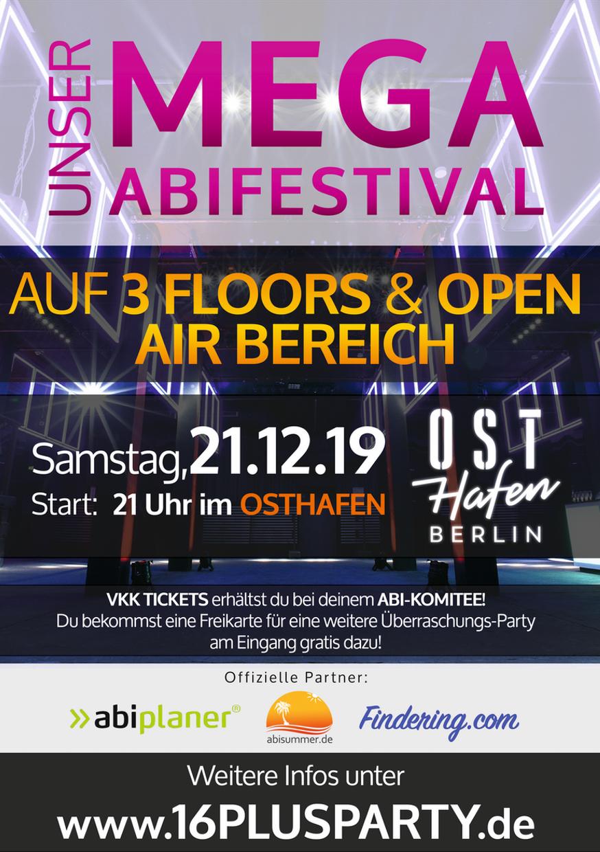 Osthafen Berlin / Samstag, 21. Dezember 2019 / 21:00 Uhr