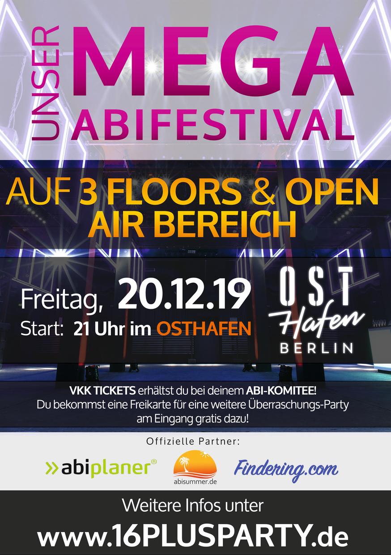 Osthafen Berlin / Freitag, 20. Dezember 2019 / 21:00 Uhr