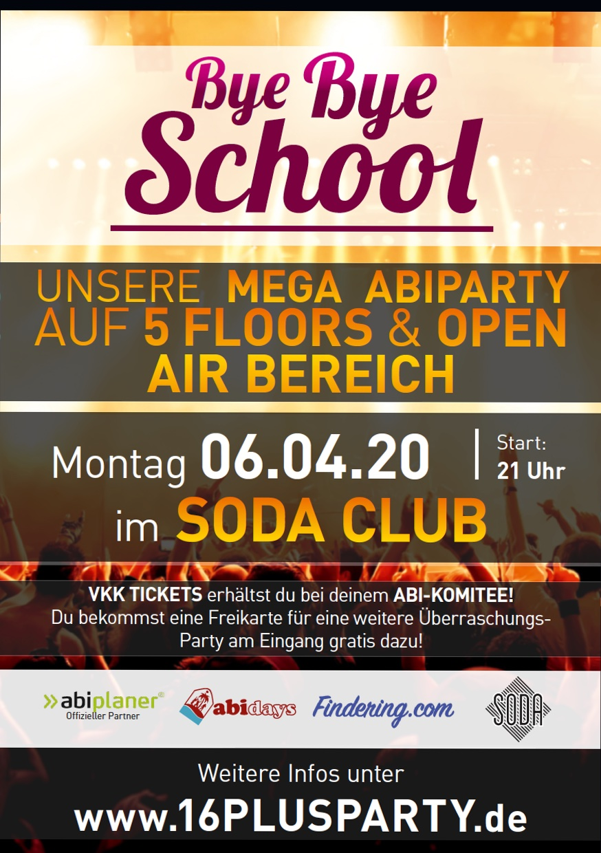 Soda Club Berlin / Montag, 6. April 2020 / 21:00 Uhr