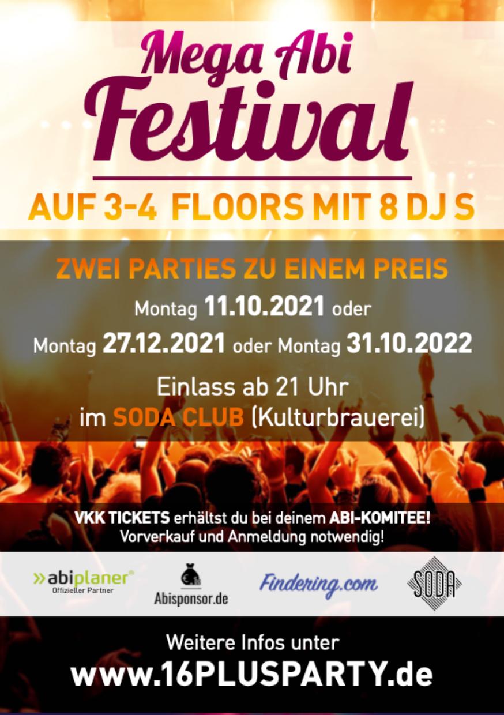 Soda Club Berlin / Montag, 11. Oktober 2021 / 21:00 Uhr